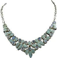 Miska Silver Amethyst Silver Plated Silver Necklace