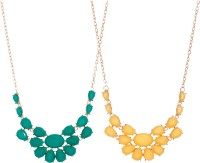 Aaishwarya Exclusive Statement (Pack Of 2) Alloy Necklace Set