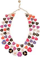 Sparkle Street Alloy, Glass Necklace