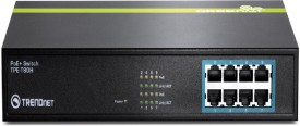 TRENDnet 8-Port 10/100mbps Poe Plus Network Switch