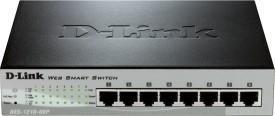 D-Link Des-1210-08p 8-Port Network Switch