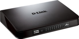 D-Link DGS 1016A Sixteen 10/100/1000 Mbps Fast Ethernet ports Network Switch