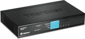TRENDnet 8-Port 10/100Mbps PoE Network Switch