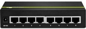 TRENDnet 8Port Gigabit GREENnet PoE+ Switch (TPE-TG44g) Network Switch