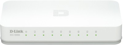 Buy D-Link 8-Port 10/100 Desktop Switch Network Switch: Network Switch