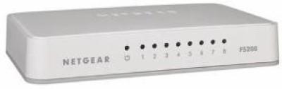 Netgear 8 Port Fast Ethernet Unmanaged