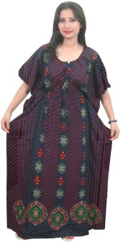 Indiatrendzs Women's Night Dress