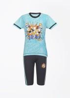 Proteens Boy's Printed Top & Pyjama Set