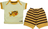 Mini Taurus Baby Boy's Animal Print Top & Shorts Set