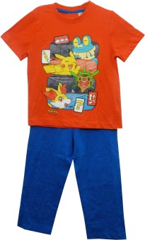 Bella Moda Boy's Printed Top & Pyjama Set
