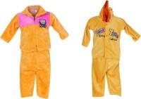 Tiny Toon Baby Boy's Printed Yellow Top & Pyjama Set