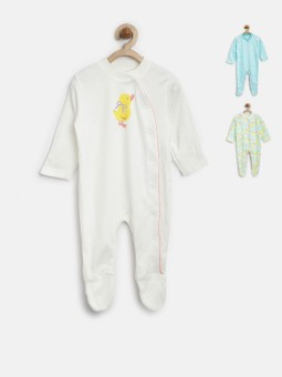 Marks & Spencer Girl's, Boy's Printed White Sleepshirt