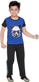13in Boy's Printed Top & Pyjama Set