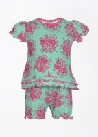 Claesens Baby Boy's, Baby Girl's Baby Girl's, Baby Boy's Floral Print Top And Bloomer Set