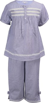 Shopper Tree Girl's Striped Top & Pyjama Set