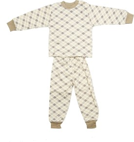 Camey Boy's Stripes Top & Pajama Set