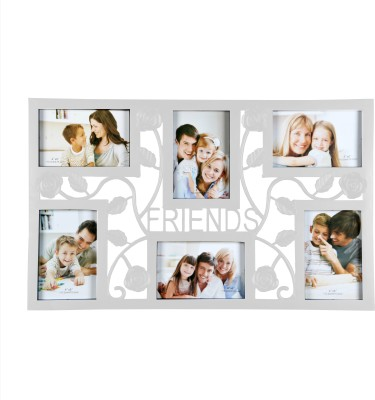 The Yellow Door Friends Wall Frame- White for Rs. 857 at Flipkart
