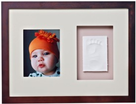 Baby Memory Prints Wood Photo Frame