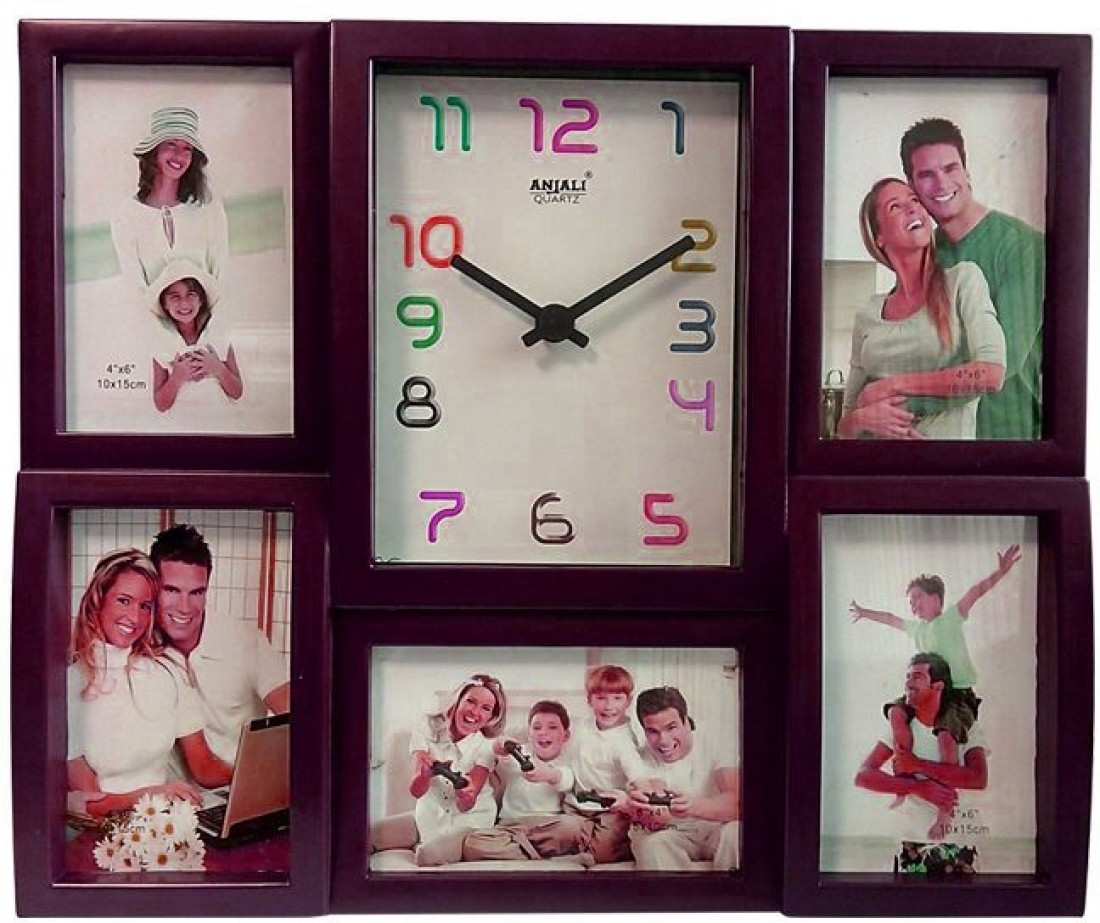 Photo Frame Wall Frame Analog Wall Clock