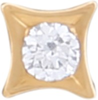J Diamonds Diamond Gold Nose Stud