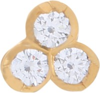J Diamonds Diamond Gold Nose Stud - NRSE472D5WQT5EBU
