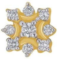 Nakshatra Diamond Yellow Gold Nose Stud - NRSE57ZSHTG4DEKK