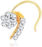 Nakshatra Diamond Yellow Gold Nose Stud - NRSE57ZS59U3QKRX