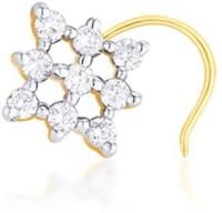 Nakshatra Diamond Yellow Gold Nose Stud - NRSE57ZSFWH5BPK5