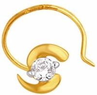 Nakshatra Diamond Yellow Gold Nose Stud - NRSE57ZSPPYPYQJR