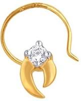 Nakshatra Diamond Yellow Gold Nose Stud