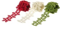 Wink Snow Flake Assorted Color Lace (Multicolor)