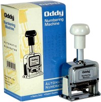 Oddy Auto Numbering Machine - 10 Digits  Office Set (Multicolor)