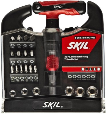 Skil 36 Piece Mini T Handle Set from Bosch at Flat Rs 970 - Save 10%