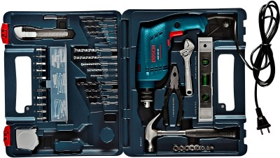 Bosch GSB 500 RE Power Tool Kit Blue Blue available at Flipkart for Rs.3599