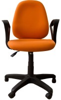 Woodpecker Fabric Office Chair (Brand Color - Orange)