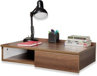 Debono Passion Wall Hung Study Table Engineered Wood Study Table (Wall Mounted, Finish Color - Acacia Dark Matt Finish)