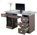 Royal Oak Engineered Wood Office Table (Free Standing, Finish Color - Honey Brown) - OSTEAZDJ9AHMBZHG