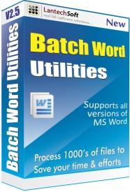 Lantech Soft Batch Word Utilities