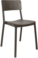 Cello Furniture Plastic Cafeteria Chair (Finish Color - Brown)