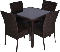 Greenwood Enterprises Brown Solid Wood Table & Chair Set (Finish Color - Brown)