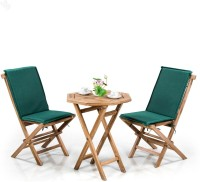 RoyalOak Natural Solid Wood Table & Chair Set (Finish Color - Natural)