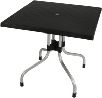 Supreme Plastic Outdoor Table (Finish Color - Wenge)