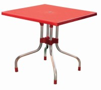 Mavi Plastic Cafeteria Table (Finish Color - Red)
