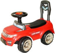 Taaza Garam Kids Imported High Quality Ride On Push Along Range Rover Magic Car - Gift Toy (Red)