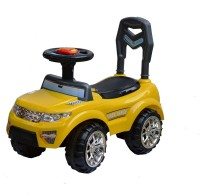 Taaza Garam Kids Imported High Quality Push Along Range Rover Magic Car - Gift Toy (Yellow)