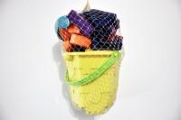 Ruppiee Shoppiee Gold Sand Bucket (Multicolor)