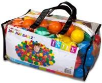 Intex Fun Balls 100 Pcs (Multicolor)