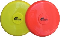 Sahni Sports Frisbee Flying Disk 9 Inch (Set Of 2) (Multicolor)