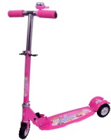 A2B Super Three Wheel Scooty For Kids (Pink)