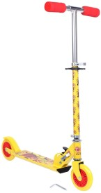The Flyer's Bay Licenced Multi Character 2 Wheel Scooter High Grade Quality (Motu Patlu)